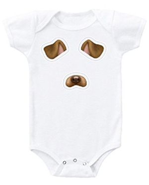 dog-face-baby-bodysuit