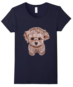 fluffy-puppy-cute-t-shirt