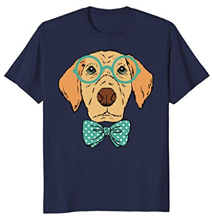 geeky-dog-tshirt