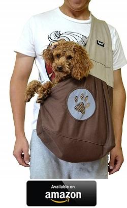 Cotton Long Handle Sling Bag I Love My Cocker Spaniel